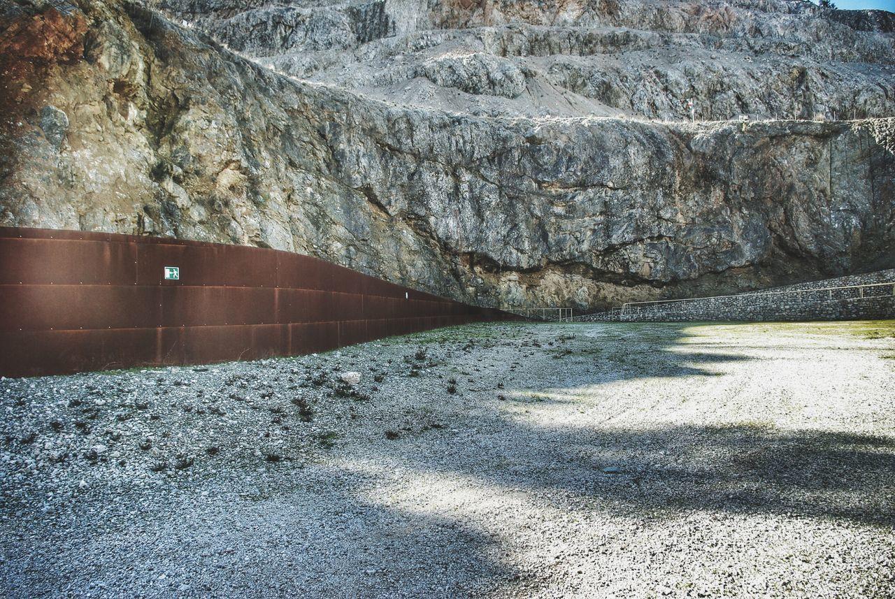 Q Quarry Gavorrano Italy Tuscany Museo Minerario Parco Delle Rocce Corten Steel Fence Minimalist Architecture