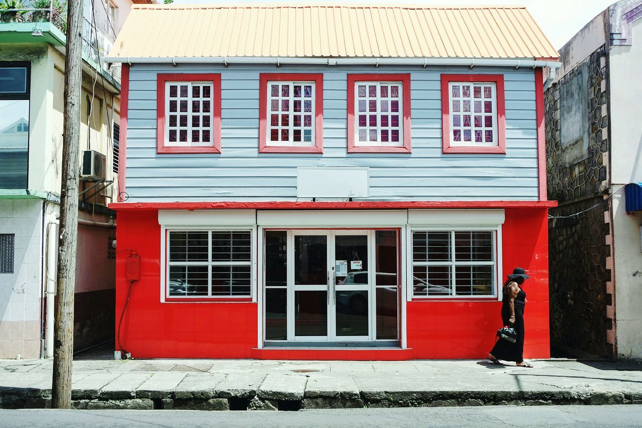 St. Vincent, British Caribbean Window Building Exterior Architecture Balcony Outdoors Built Structure No People Day City Street Travel Destinations EyeEm Best Shots Fresh 3 Eye4photography  Open Edit People Adult Multi Colored Architecture Street Streetphotography Streetphoto_color