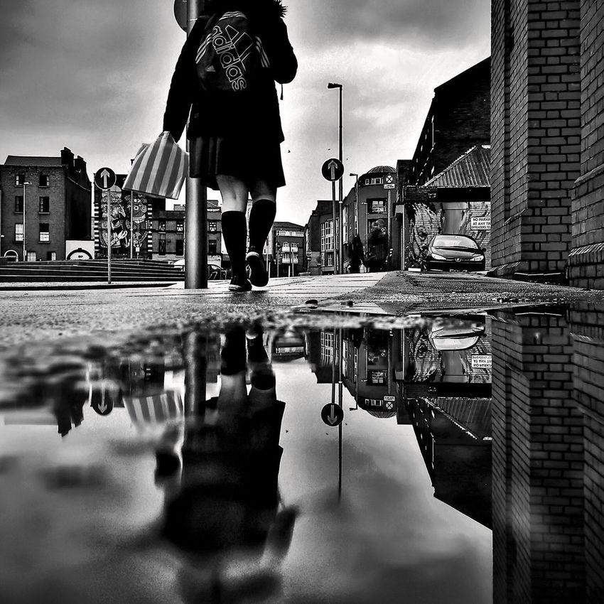 Streetphoto_bw NEM Street EyeEm Best Shots - Black + White Blackandwhite EyeEm Dublin