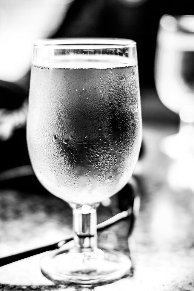 Monochrome Photography Food And Drink Close-up Drink Refreshment Table Still Life Focus On Foreground Single Object Freshness Indulgence Indoors  Alcohol Food Froth Beverage Non-alcoholic Beverage Temptation No People Serving Size Ready-to-eat Blackandwhite Beer