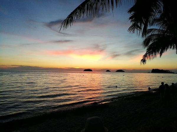 Sunset Sea Beach Nature Live For The Story Koh Chang Thailand Sky Slow Life Landscape Photography Landscape Travel Outdoors