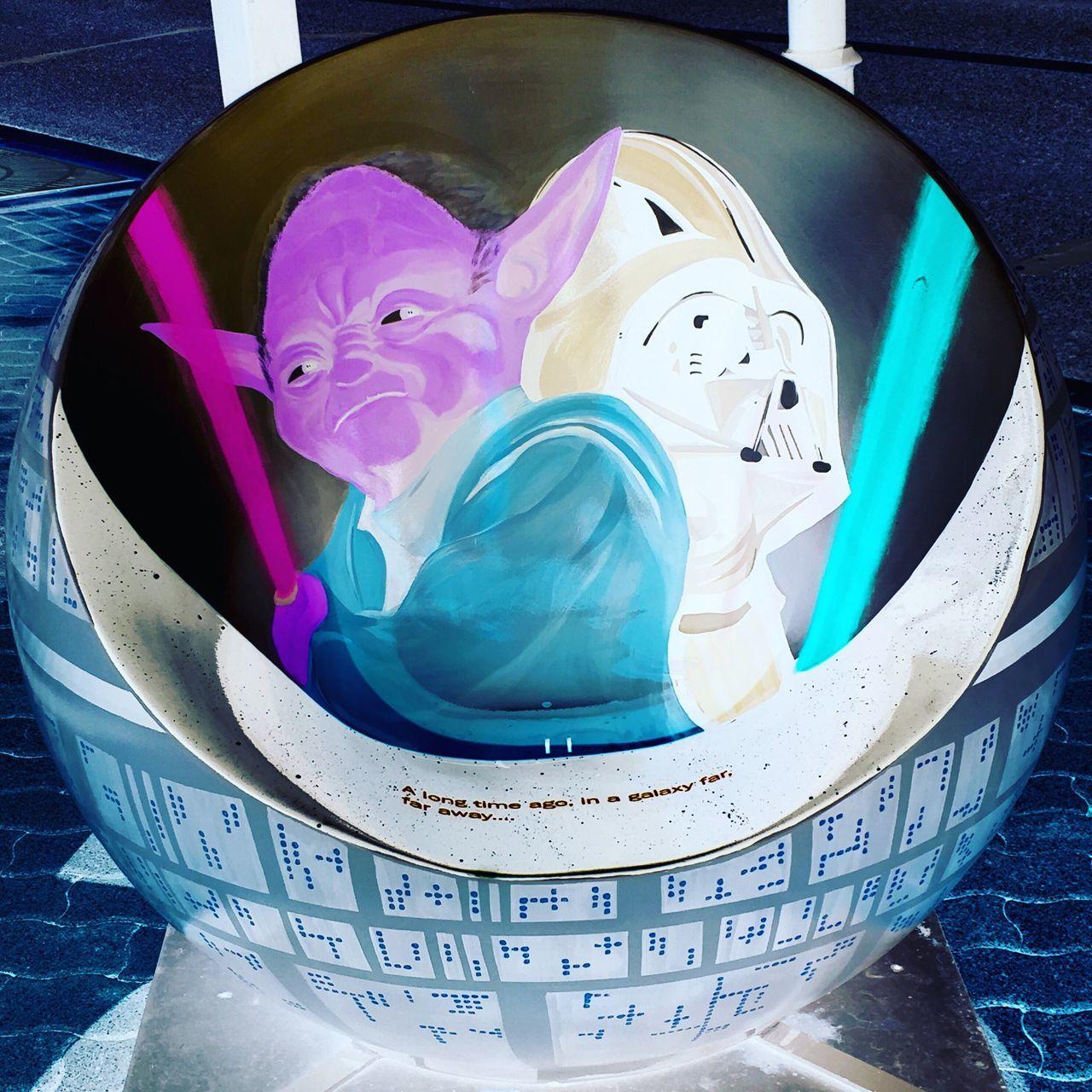 Yoda+DarthVader Starwars MayTheForceBeWithyou Artphotography
