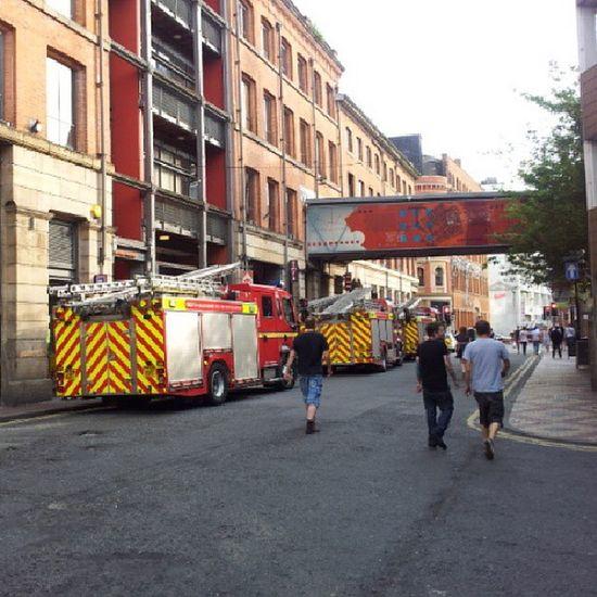 From TibStreet Manchester Blaze Paulshairworld fire OldhamStreet FireTruck
