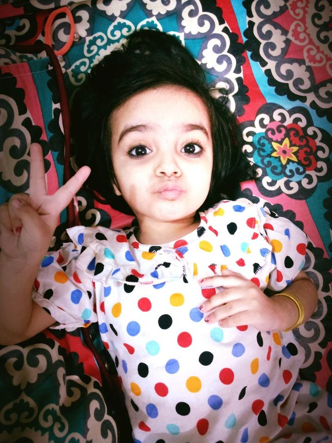 My Daughter Duckface Lovely :)