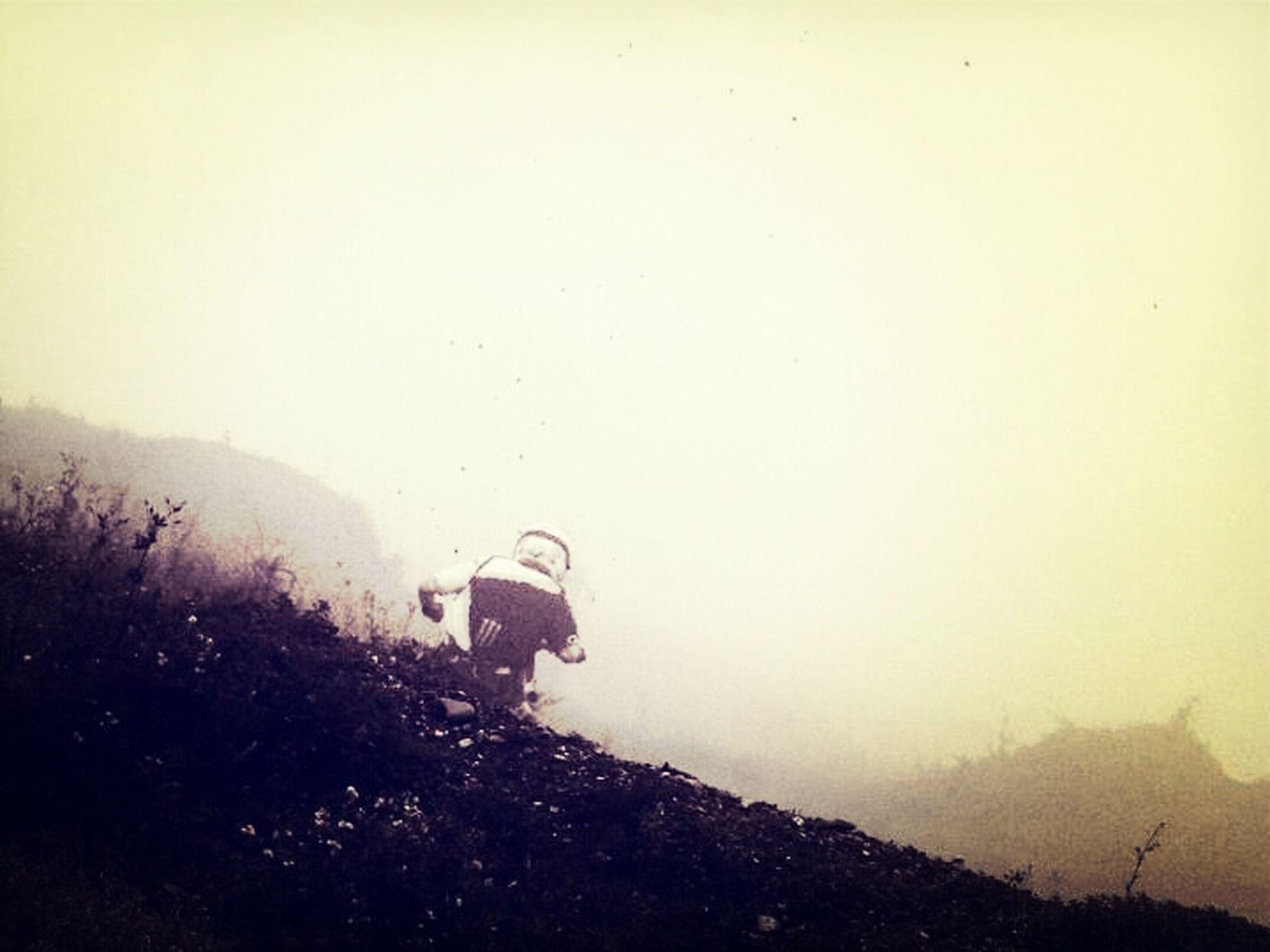 Mist Motocross Run In The Fog OMG! Where I'm Going?!