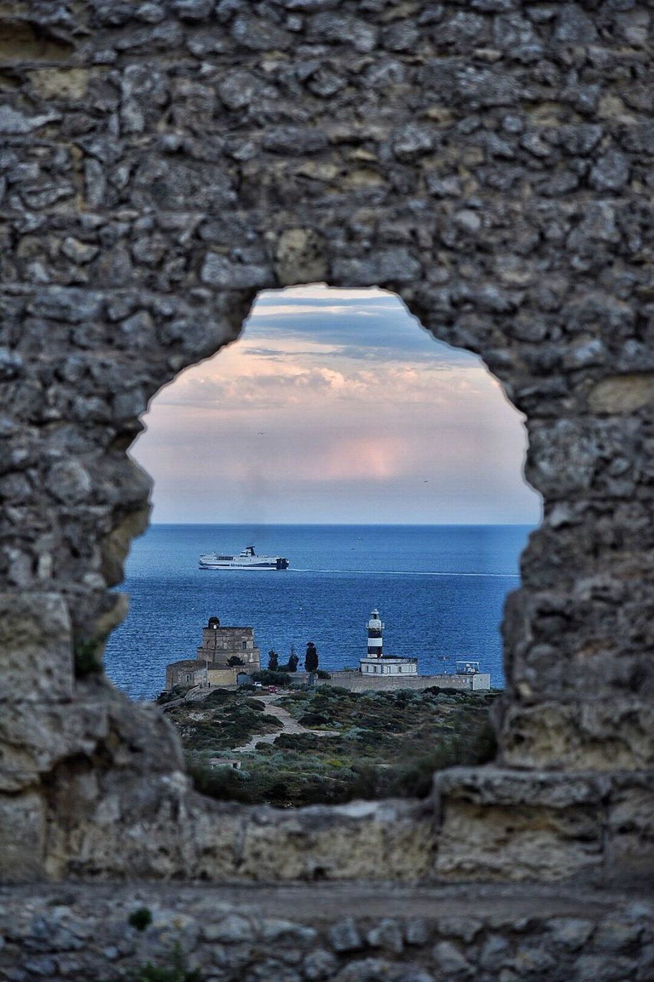 Sea Nature Water Beauty In Nature Horizon Over Water Rock - Object Outdoors No People Scenics Sky Day Tranquility Cagliari Urban City EyeEm EyeEm Masterclass EyeEm Gallery Cagliari Relax Passeggiata Cagliari, Sardinia EyeEmbestshots Eyeemphotography EyeEmBestPics EyeEm Best Shots Outside Tranquil Scene Lighthouse