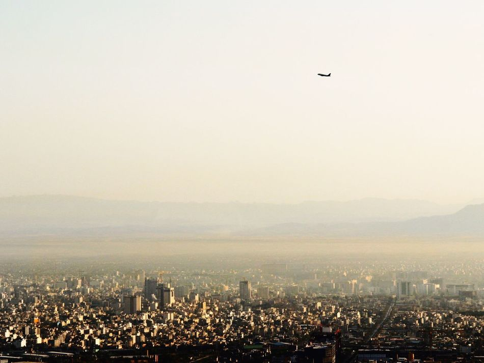 Iran Mashhad Mountain City Photoshopfix Airplane
