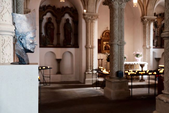 Dom Osnabrück Fujifilm X-e2s Dom Osnabrück Light And Shadow Mask Candles Church Indoor Church