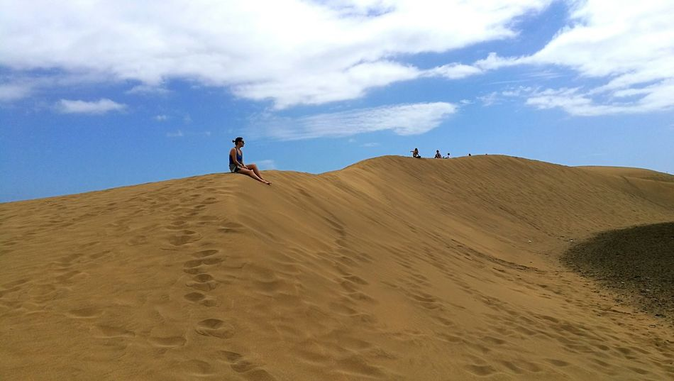Travel Sand Dune Desert Adventure Landscape People Day Sand Journey Nature Sky Outdoors Full Length Nature Environment Two People Arid Climate Pilgrimage Beauty In Nature Adult EyeEmNewHere Hobby💛 Hobbyphotography