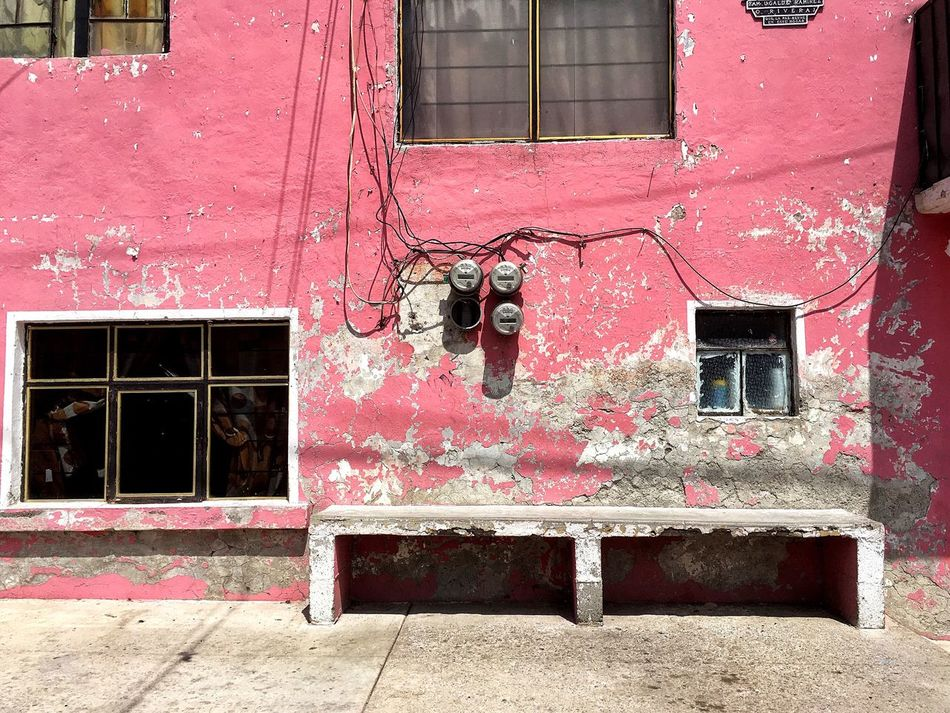 Millennial Pink Built Structure Architecture