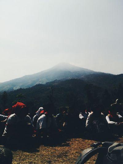 Ground Anthropology Team Squad Journey Hiking Mt.Penanggungan Mountains Tent GreatView 😍