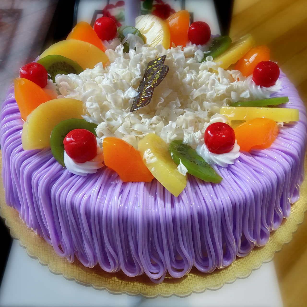 You know I love purple ☺ Temptation Dream Cake Cake Ready-to-eat Indulgence Sweet Food Close-up No People Dessert Food And Drink