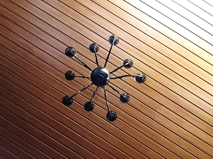 A different perspective of a ceiling. Ceiling Brown Perspectives Lines And Shapes Lookingup First Eyeem Photo