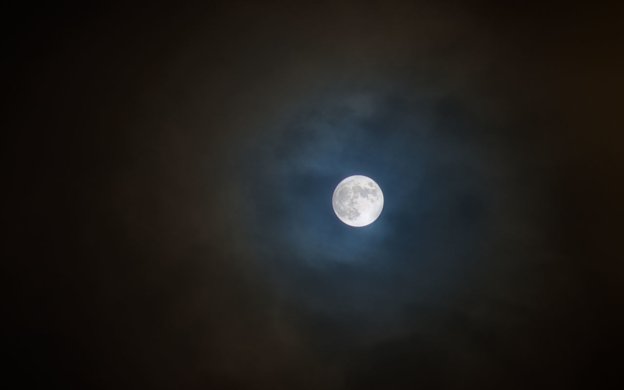 moon, astronomy, nature, night, beauty in nature, scenics, full moon, planetary moon, moon surface, tranquil scene, tranquility, sky, no people, low angle view, cloud - sky, outdoors, half moon, space exploration, space