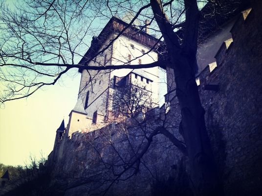 Castles at Karlstejn by ncolefarrell