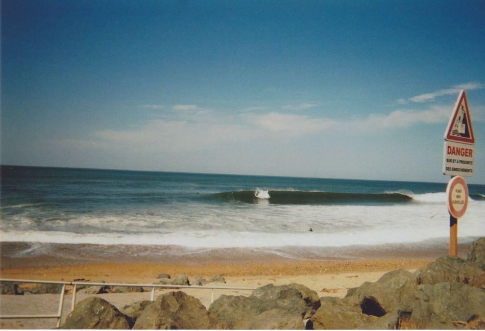 35mm 35mm Film Anglet Barrel BasqueCountry Beach Beachphotography Film Film Photography Filmisnotdead France Hossegor Kodak Les Landes Photo Photography Rocks Rocks And Water Sand Sea Shore Surf Water Wave Waves