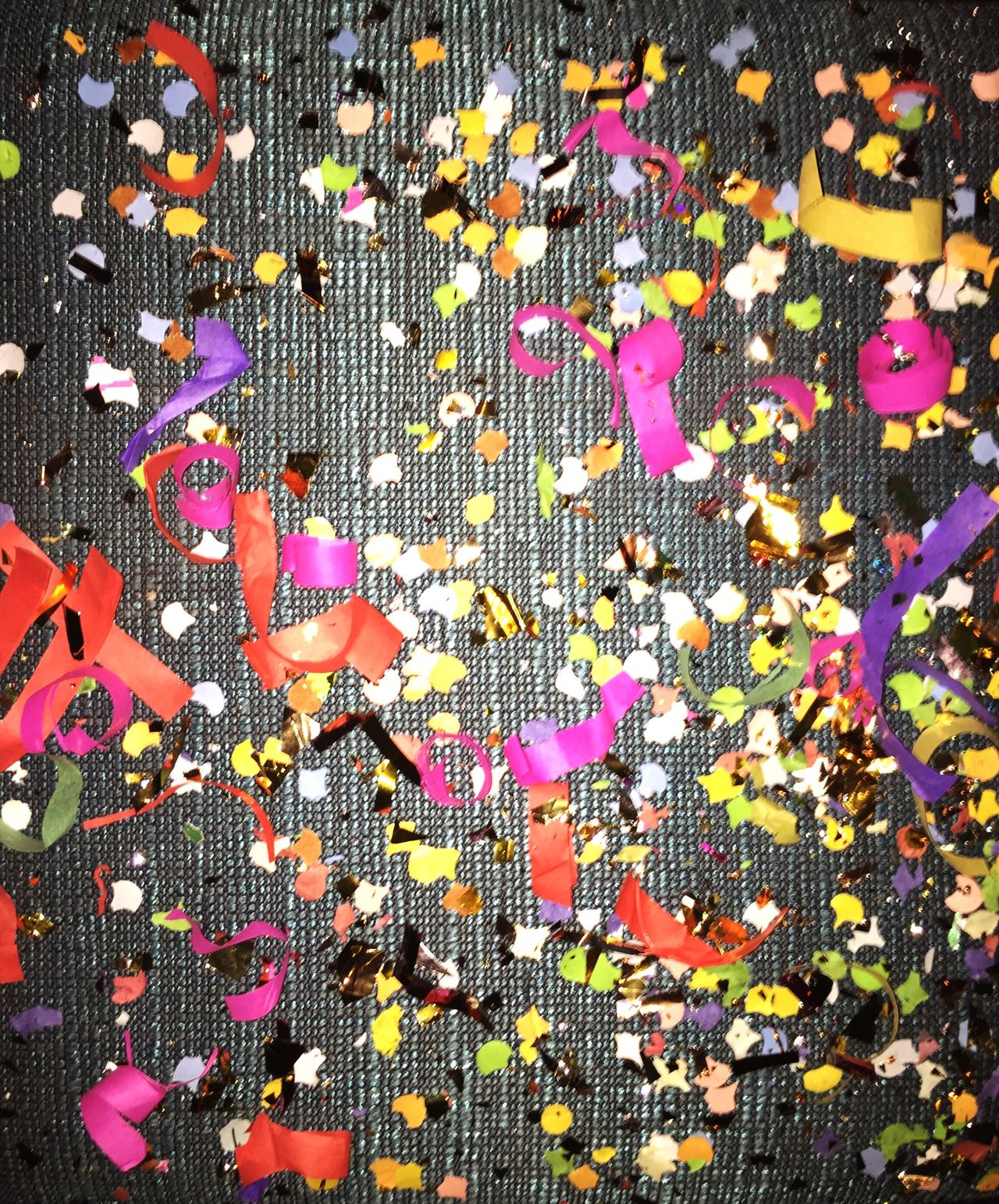 Multi Colored Backgrounds Confetti Celebration No People Glitter Glitzer Bunt Party Feiern Sylvester