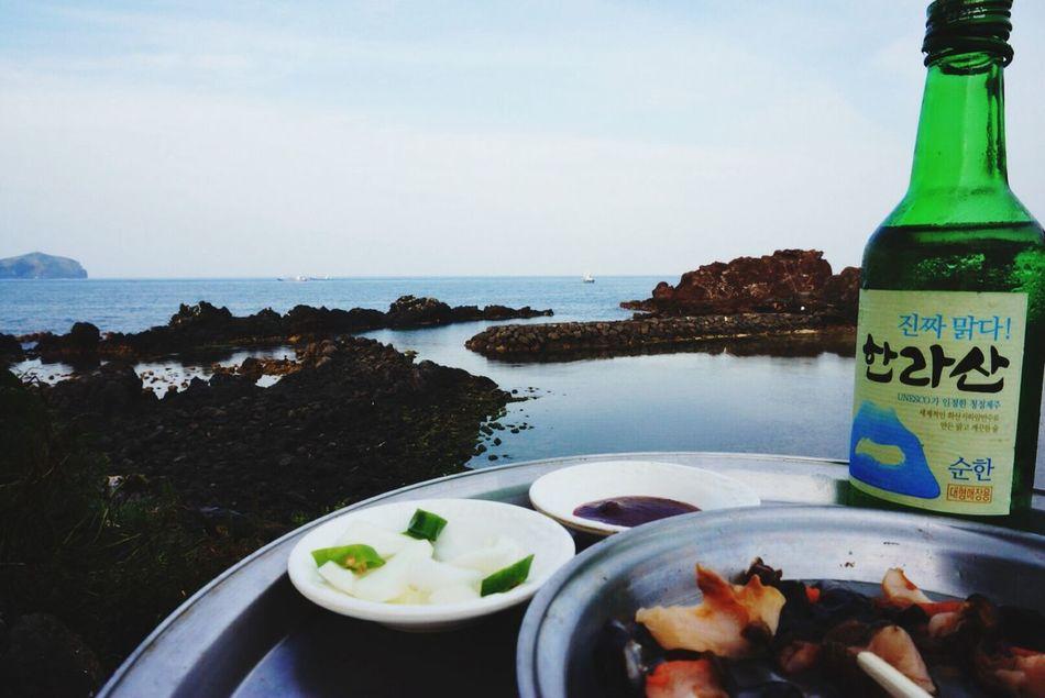 Eating Freash Seafood & Enjoy Nature