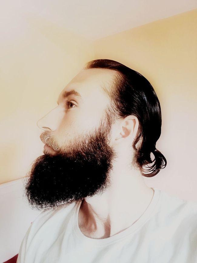 Bearded life Human Face One Person Human Body Part Young Adult Indoors  Beard Bearded Close-up Beardlife Beardgang Fullbeard Beardlove Beardman Beardstyle Barber Beardoil The Portraitist - 2017 EyeEm Awards