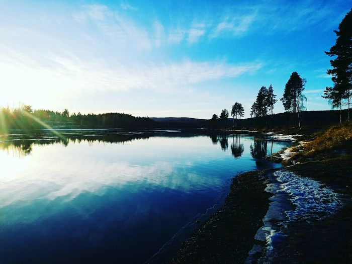 Nature Landscape Sky Tree Water Outdoors Beauty In Nature Day No People Vestre Aadal Norway