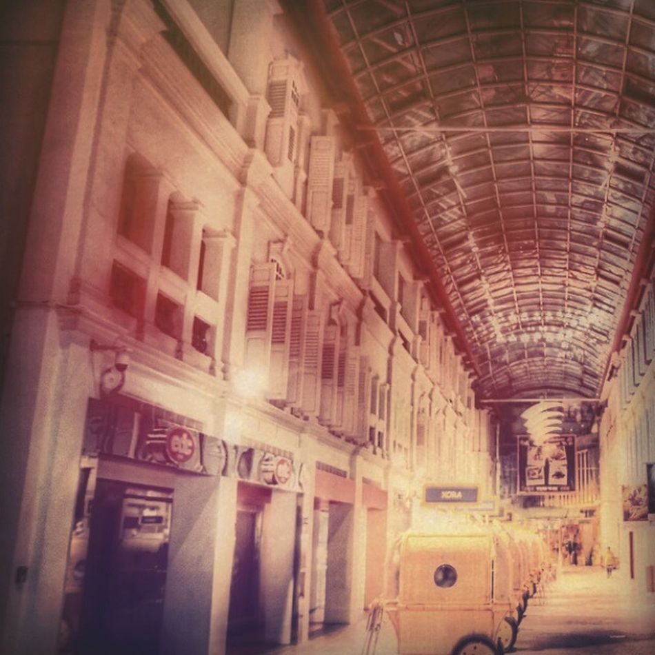 An empty shopping mall after operating hours.. Night Out Empty Bugisjunction First Eyeem Photo