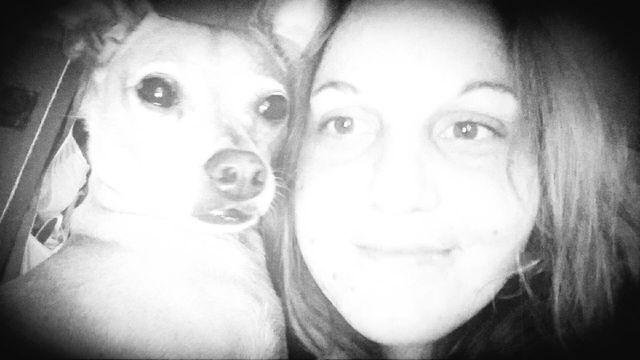 Girl and her dog First Eyeem Photo   EyeEm