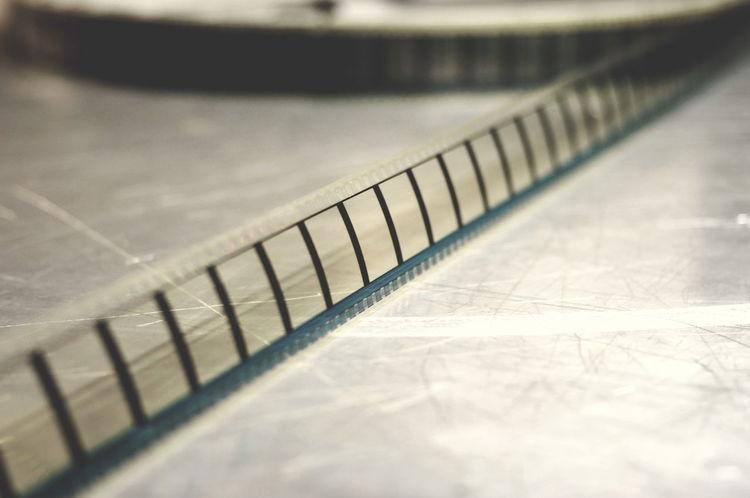 Close-up Film Filmroll Filmrolle Frames Indoors  Kino Roll Selective Focus