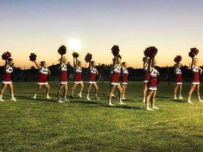Go wings! Cheer Cheerleaders  Spirit Squad