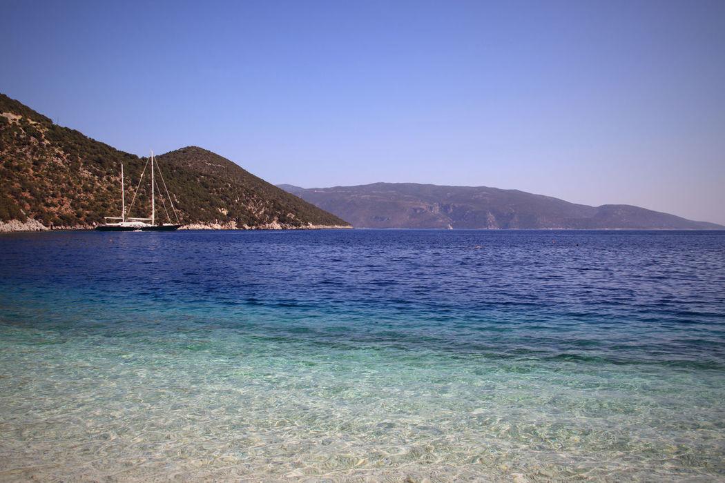Antisamos Bay, Kefalonia, Greece Antisamos Distant Greece Kefalonia_Greece Outdoors Sea Sea_collection Sea Landscape Voyage Water