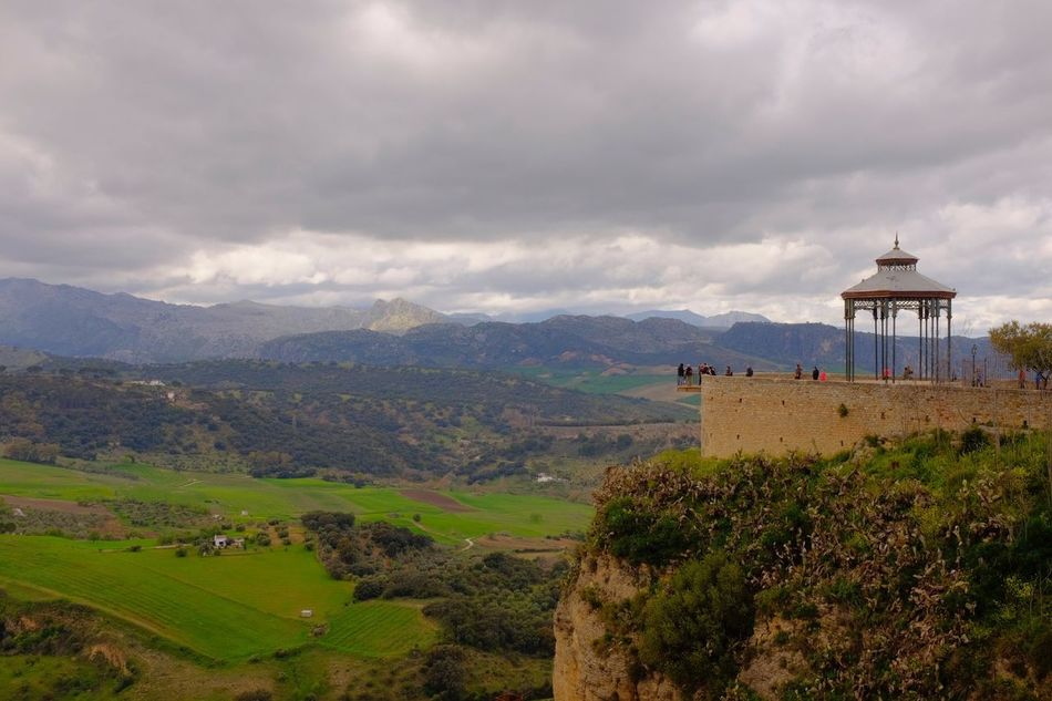 Vista Ancient Architecture Beauty In Nature Building Exterior Built Structure Cloud - Sky Day Dome History Idyllic Landscape Medieval Mountain Mountain Range Nature No People Non-urban Scene Outdoors Ronda Spain Scenics Sky Tourism Travel Travel Destinations