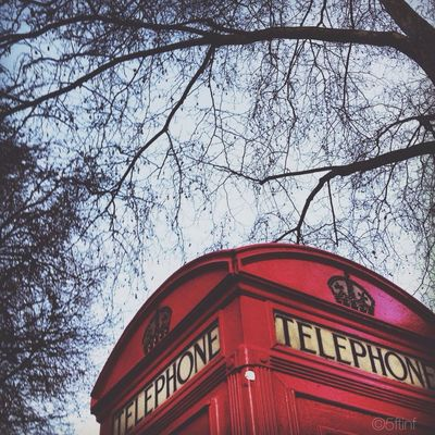 Telephone Box in City of London by 5ftinf