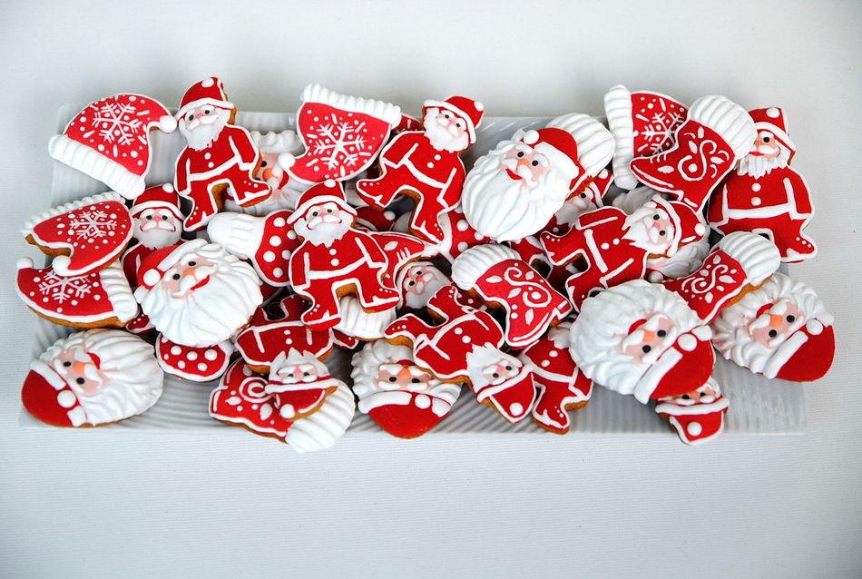 Beautiful stock photos of weihnachtsmann, red, heart shape, still life, sweet food