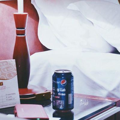 """تصويري Nikon Sleep """": النوم يعوضك عن اشياء كثيره اولها شعور ما تبي تحس فيه (= ♡"""" Harmony hotel almadinah يازين بيبسي ♡♡"""