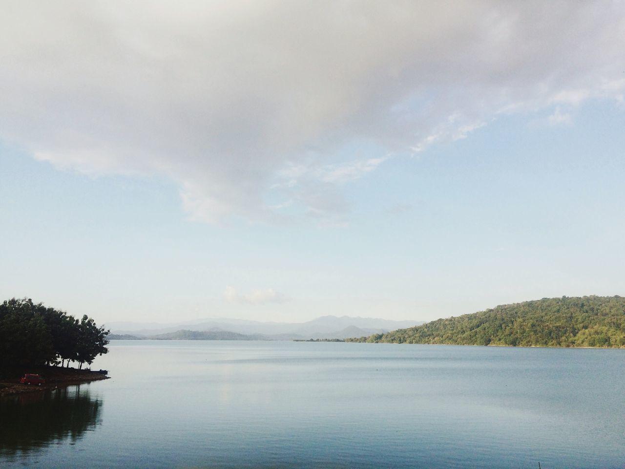 Beautiful stock photos of lake, , Cloud, Day, Hill