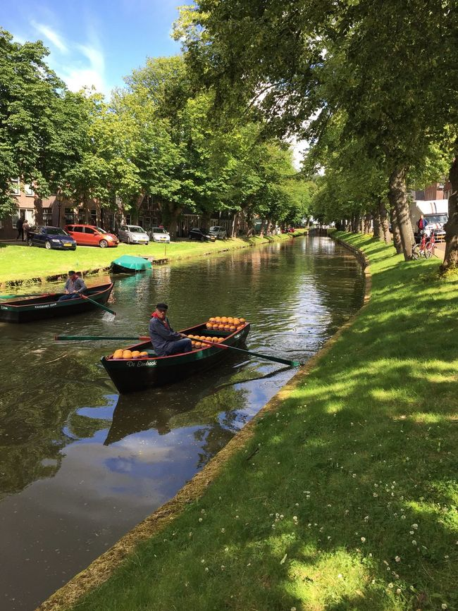Canal Colors Holland Color Of Life Water Boat Place Of Interest