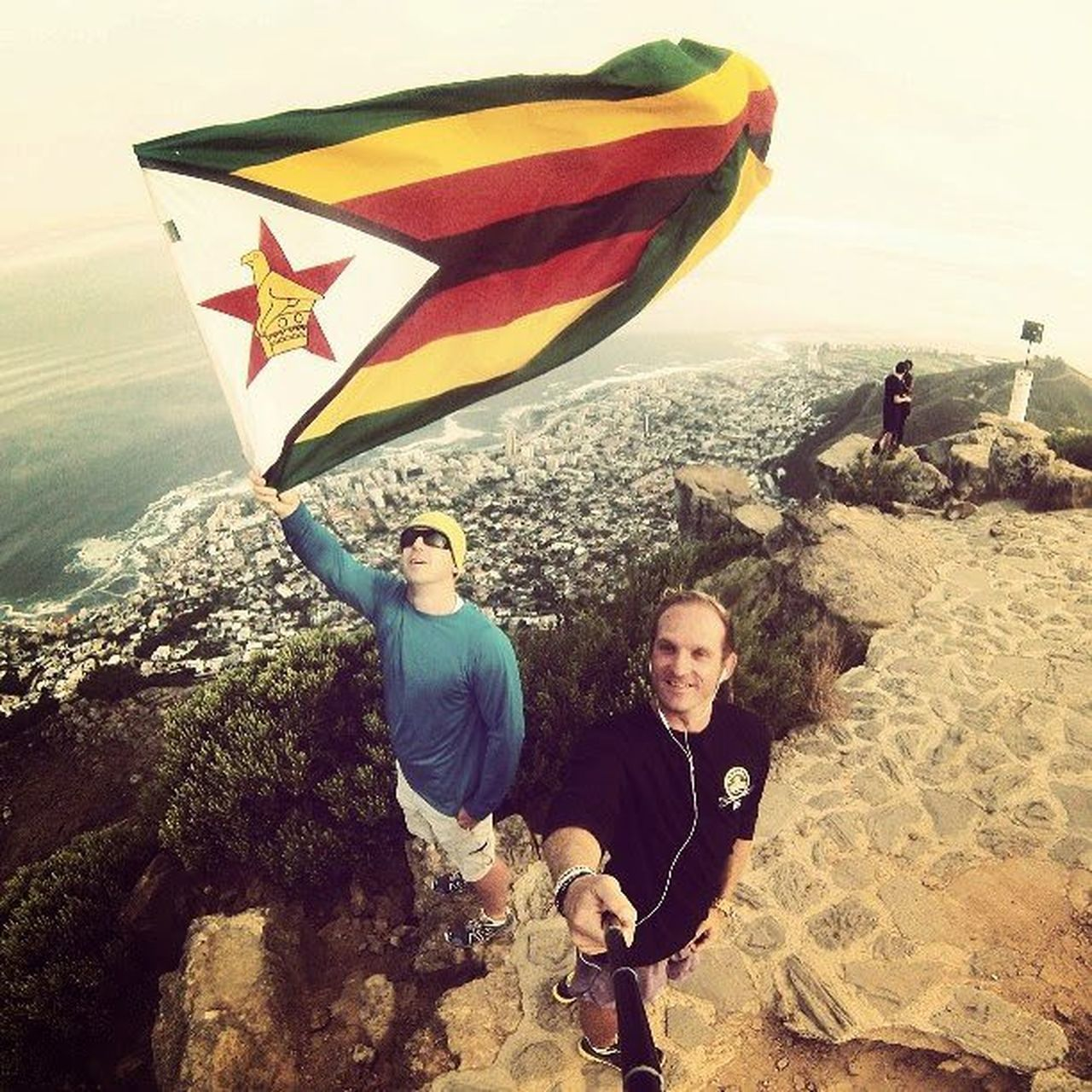 Be proud. Be a hero. HPSAbeahero HPSAbeahero Wohza Hero3 Adventure Flytheflag Proudlyzimbabwean Lionshead Capetown Southafrica