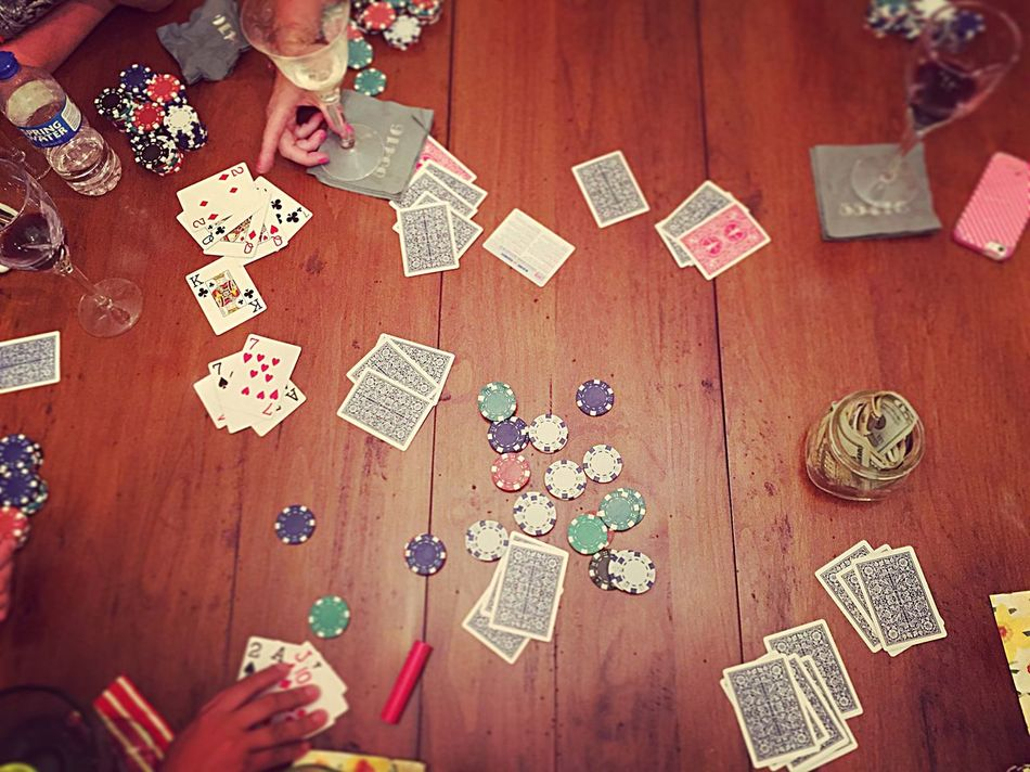 Poker night Lady Poker Poker Poker Night Ladies Night Cards Wine Girls Night In