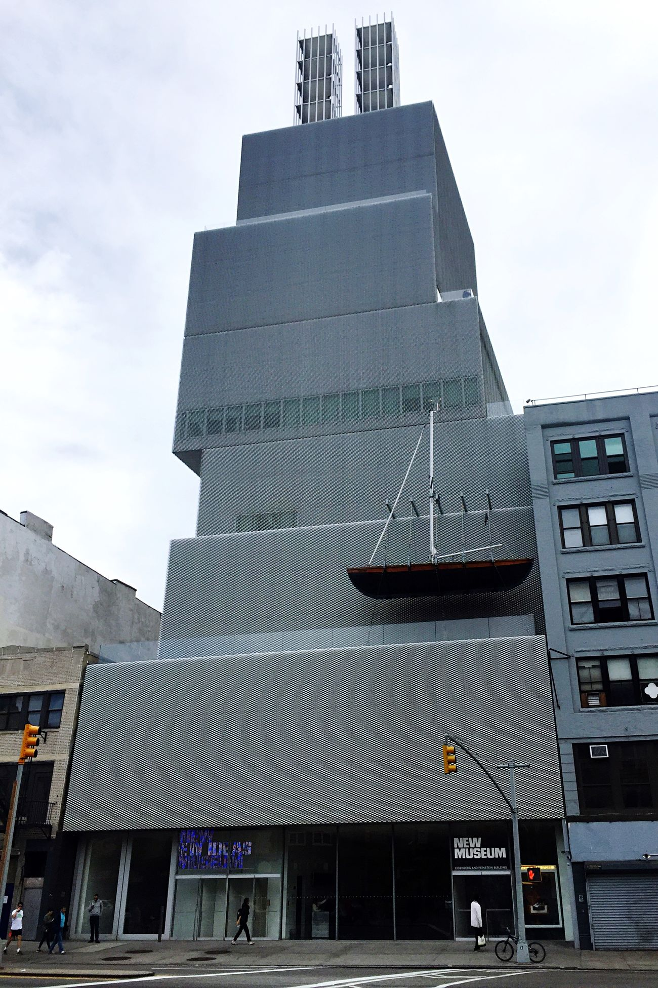 New Museum Of Contemporary Art KazuyoSejima RyueNishizawa SANNA Architect Firm 253bowery Newyorkcity