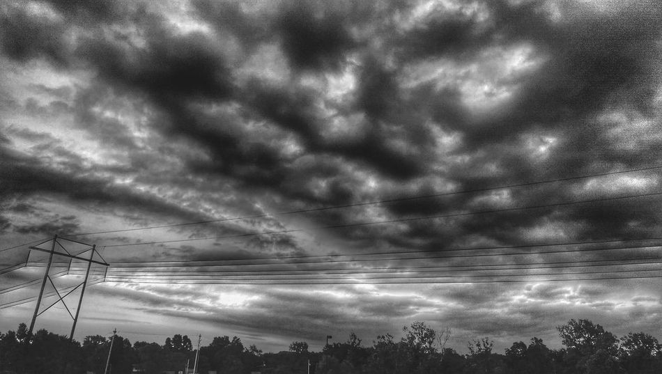 The Impurist Black & White Skylovers Eye Am Nature Cloudporn Treeline Electr⚡️cal L❤️ve The Darkness Within My Bw Obsession