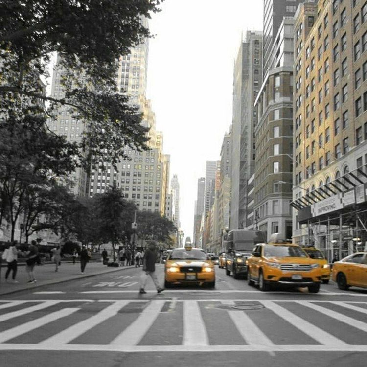 City City Life Travel Yellow NYC Photography Nyc_highlights Nycphotographer NYC Street Photography New York New York Cabs Colorsplash_kings Colorsplash