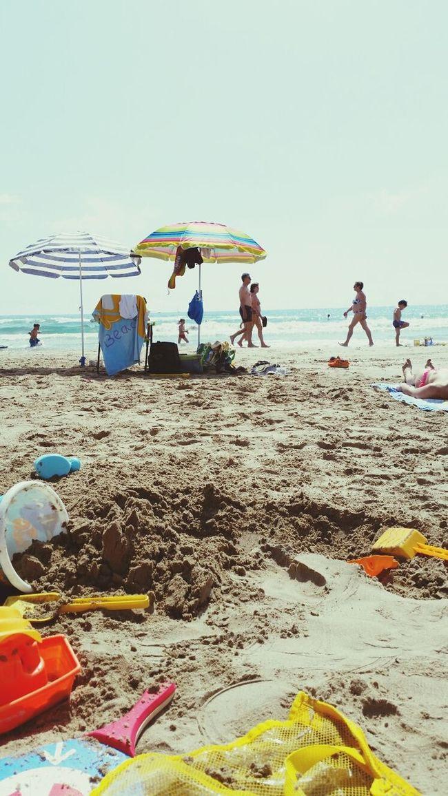 Beach Relaxing Summer Sunshine