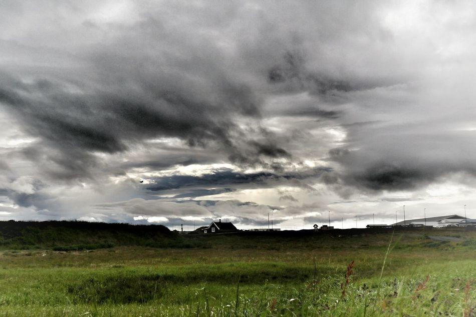 Stekkjakot Dramatic Sky Dramatic Keflavik Iceland Iceland_collection Innri Njarðvik Nature On Your Doorstep