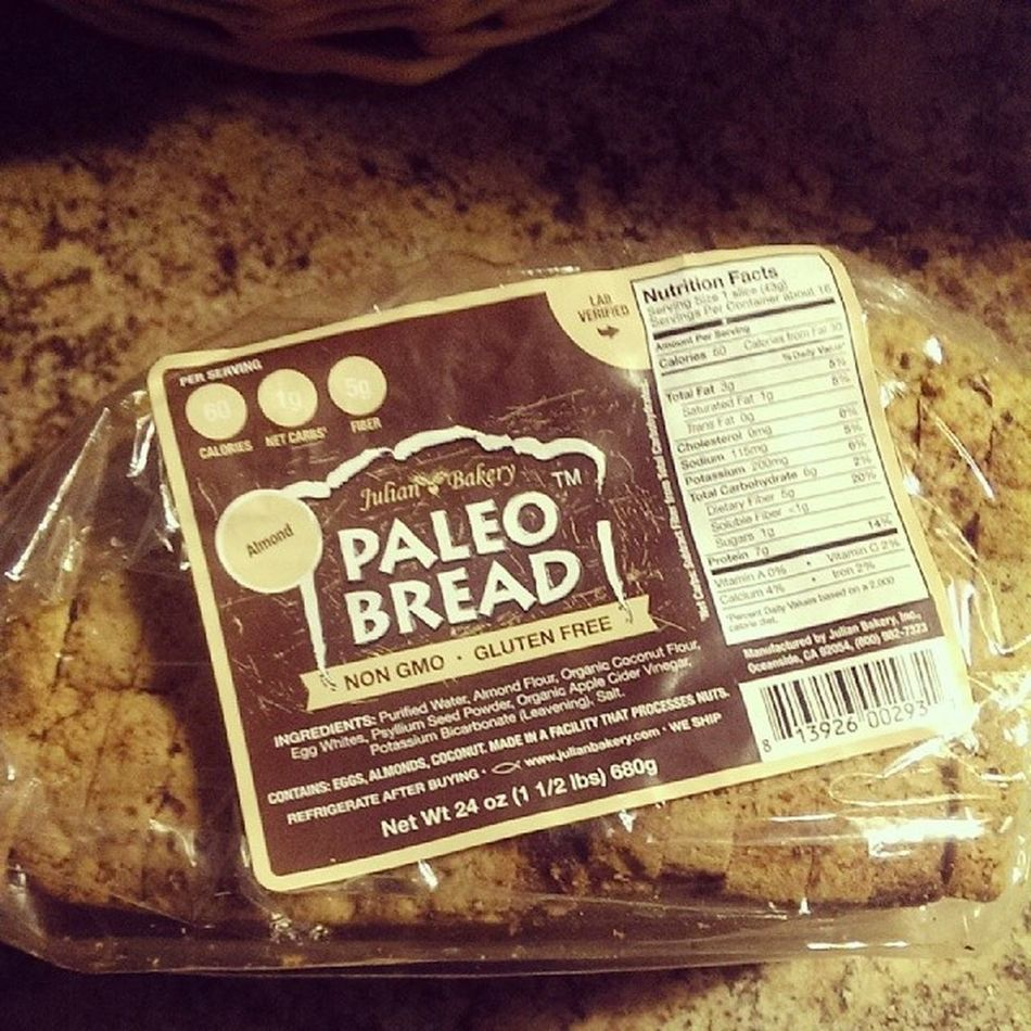 Paleobread from Julianbakery all the way from CA to NYC! :) yumm