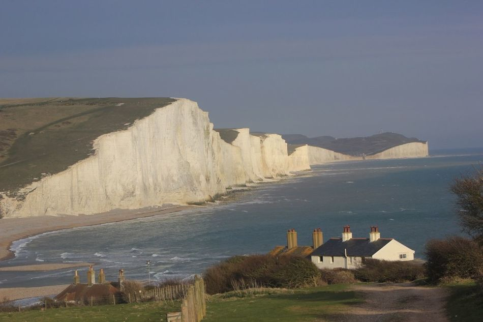 At Seven Sisters Country Park