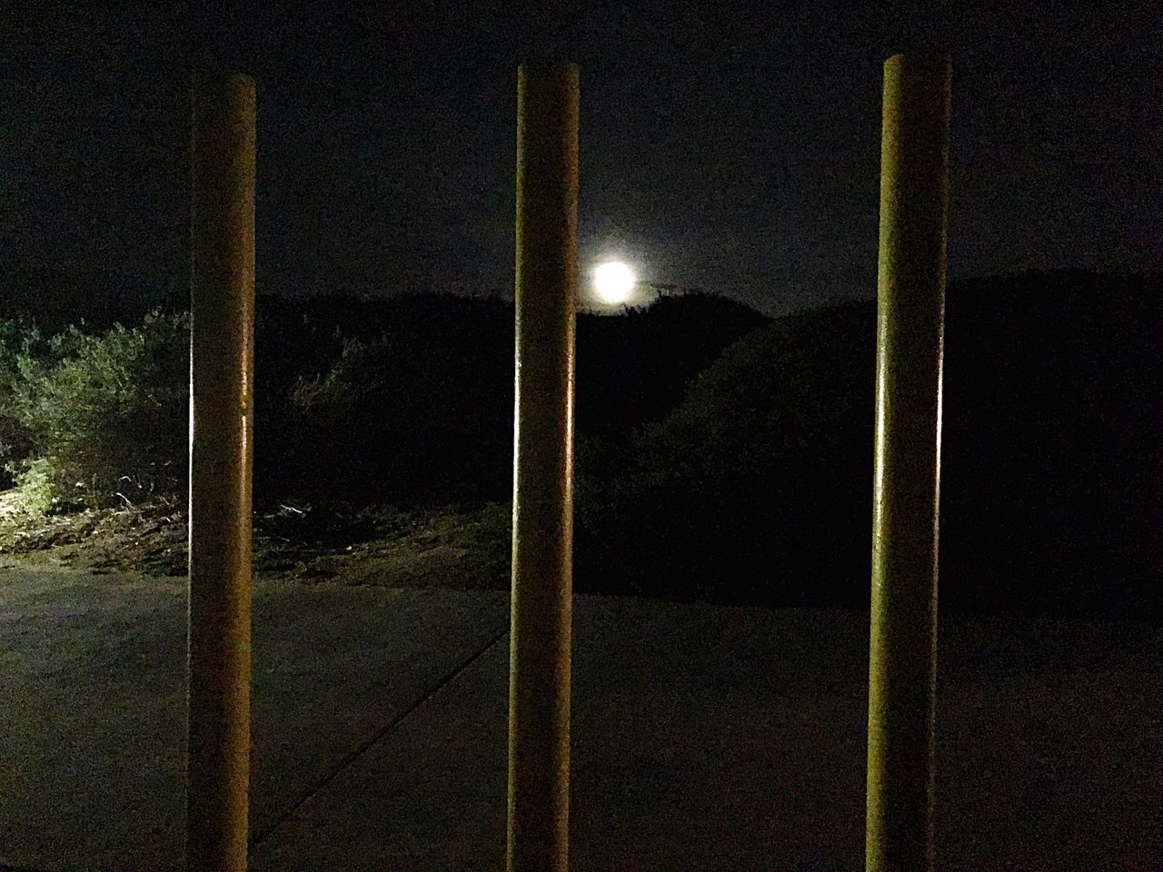 Breathe it in just follow me right to the end. Illuminated No People Nature Sky Tree Outdoors Moon Moonlight Moon Shots Moonshine Tranquility Iphonephotography IPhone Photography IPhone7Plus Iphone7 Photography Relaxation Morenovalley Sycamorecanyon Nature Pole Light The City Light