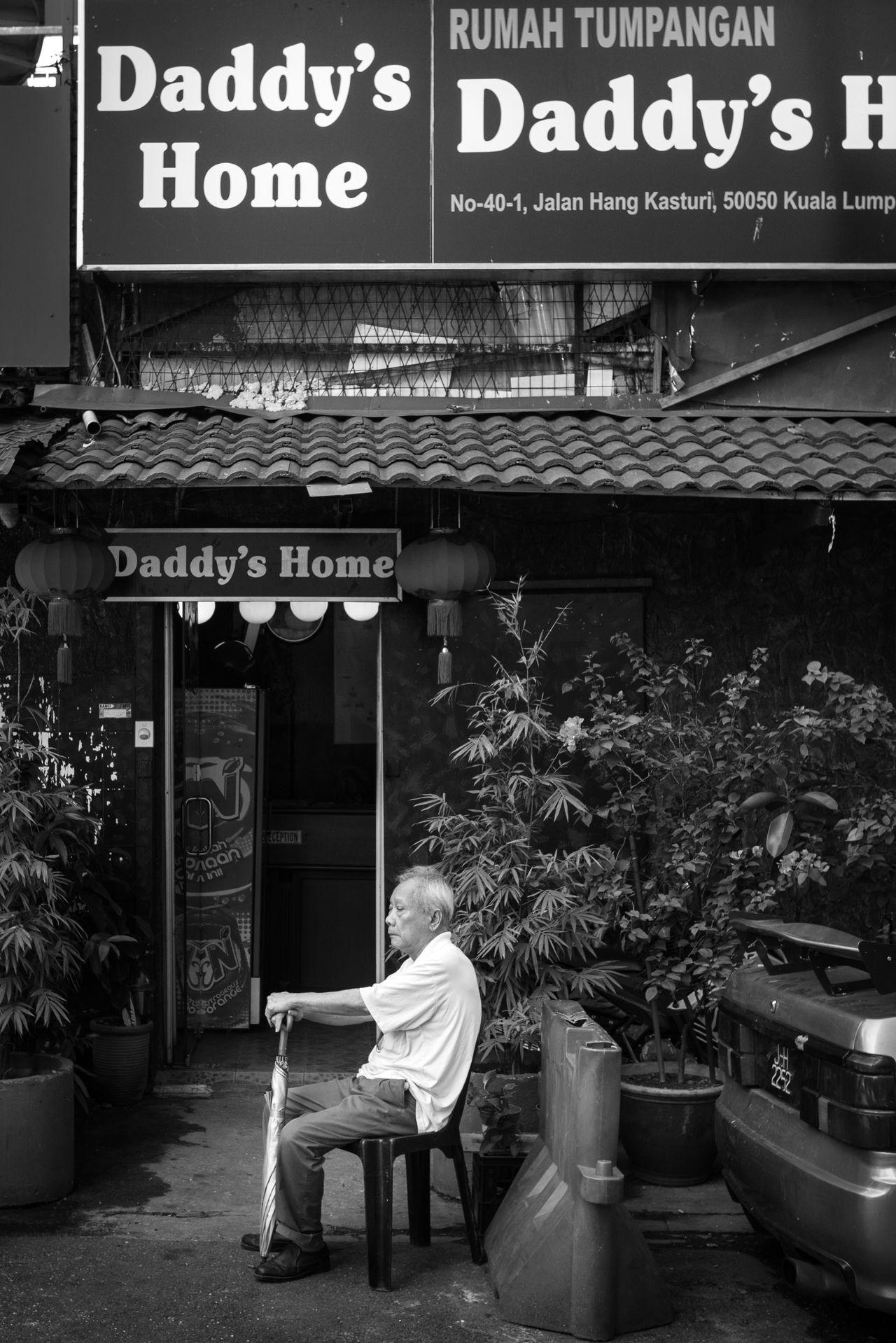 A Scene at Eldery Home Adult Daddy Eldery Home Eldery People Emotion Oldman One Person People