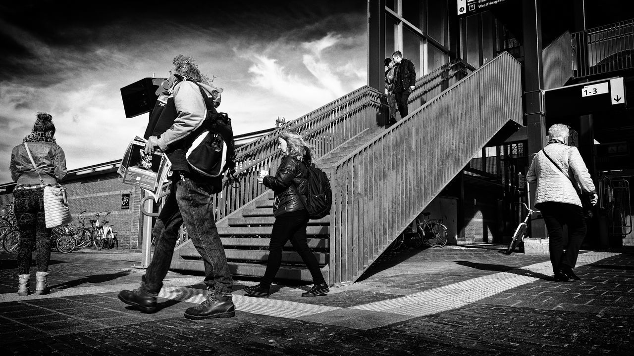 Without Faces Black & White Black And White Blackandwhite Low Section Outdoors People Real People Sky Street Photography Streetphotography