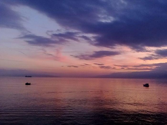 Boat Boats And Sea Boats⛵️ Reflection_collection Reflections In The Water Reflection Boat Sea And Sky Sea Rijeka Rijeka.Croatia❤⛵ Sunset Outdoor Photography Sunset_collection Sunset_captures Kantrida
