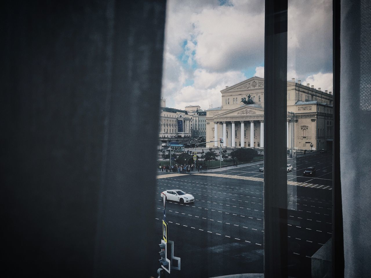 Moscow Big Theatre #Ballet From My Point Of View From Window Window Traffic Streetphotography