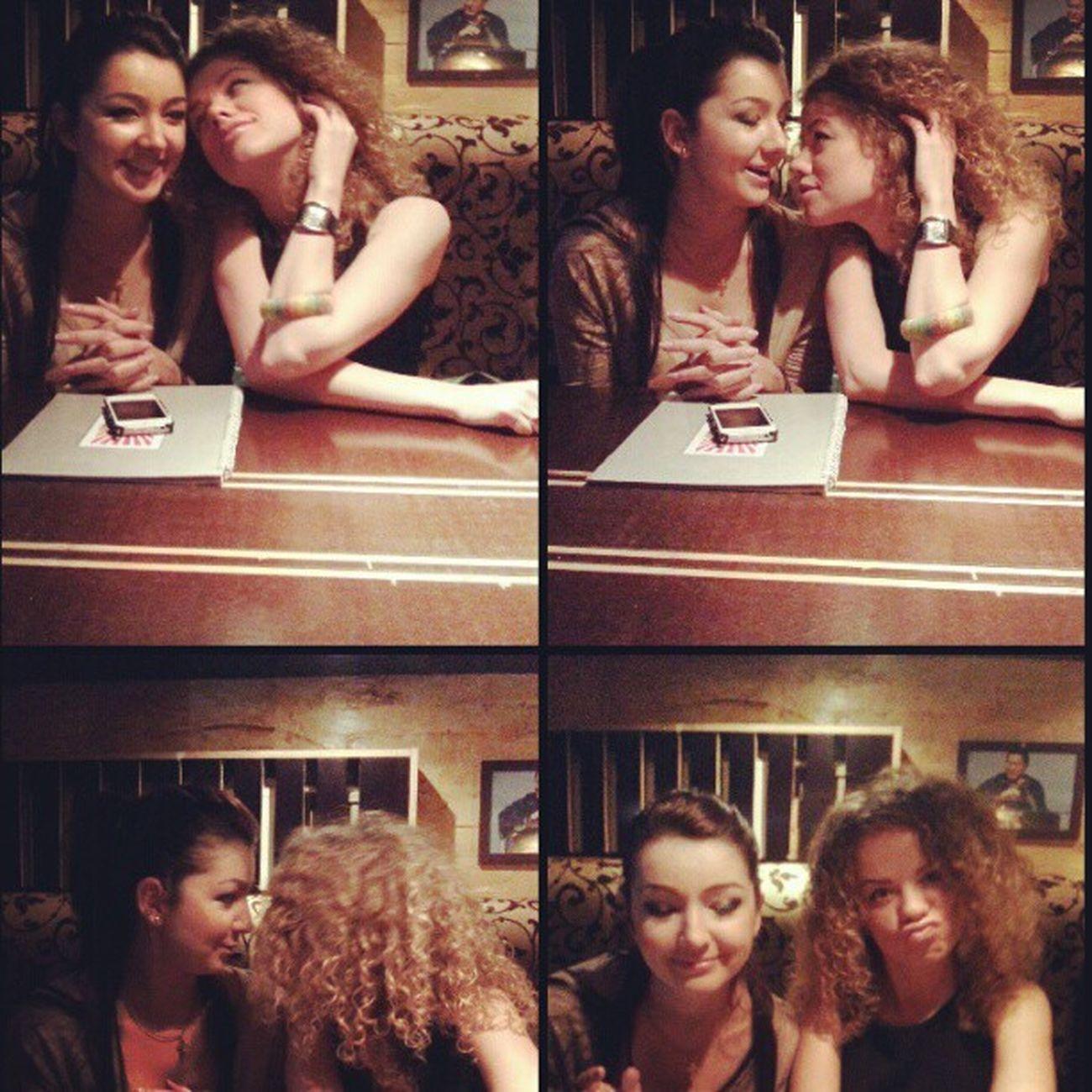 любовь и мау голуби подружки